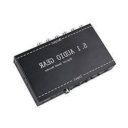 2 in 1 Sound Decoder System Meita Audio Decoder 5.1 Channel