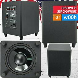 "Gravity 10"" Down Fire Active Powered Subwoofer Home Theater"
