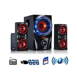 BEFREE SOUND 2.1 CHANNEL SURROUND SOUND BLUETOOTH USB/SD/SPE