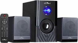 beFree Sound BFS-15 2.1 Ch Surround Sound Speaker System w B
