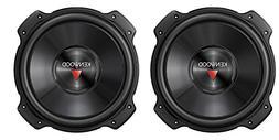 "2) Kenwood KFC-W2516PS 10"" 2600W Car Audio Subwoofers Subs P"