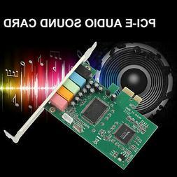 PCI Express PCI-E5.1 Ch 6 Channel PCIE Audio Digital surroun
