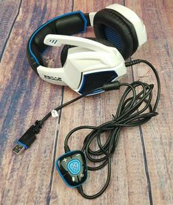 2017 Newest SADES Spirit Wolf USB Over Ear Computer Gaming H