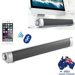 2x Powerful 3D Surround Sound Bar System Bluetooth TV Speake