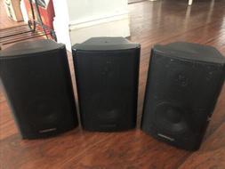 3 AudioSource LS300 2-Way Indoor-Outdoor Surround Sound Spea