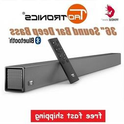 "36"" SoundBar 4-Speaker Strong Bass Wired & Wireless Blueto"