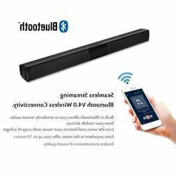 3D Surround Sound Bar Speaker Home System Wireless Bluetooth