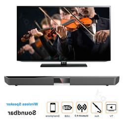 3D Surround TV Soundbar Sound Bar System Speaker Wireless Bu