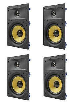 "4 Pack - TDX 8"" 2-Way In Wall Home Theater Surround Sound Sp"