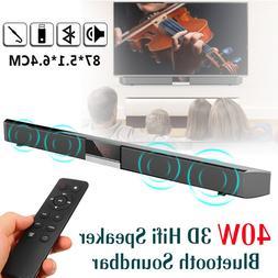 40W HIFI TV Soundbar Stereo Speaker Bass <font><b>Sound</b><