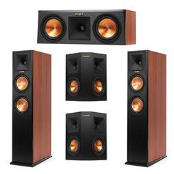 Klipsch 5.0 Cherry System with 2 RP-260F Tower Speakers, 1 R