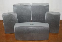 RCA 5.0 Speaker Set RTD300, Silver Home Theater Surround Sou