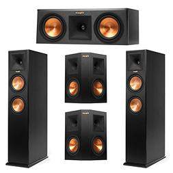 Klipsch 5.0 System with 2 RP-260F Tower Speakers, 1 RP-250C