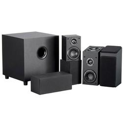 """5.1.2 Channel Immersive Sound Home Theater System w/ 8"""" Acti"""