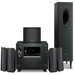 Onkyo 5.1 6-Channel Surround Sound Speaker System, black