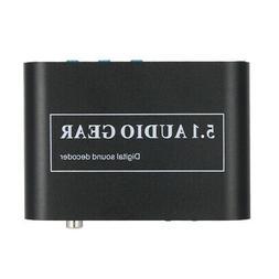 5.1 Channel AC3/DTS Audio Gear Digital Surround Sound Decode