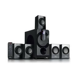 beFree Sound 5.1 Channel Surround Sound Speaker System w Blu