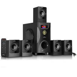5 1 channel surround sound speaker system