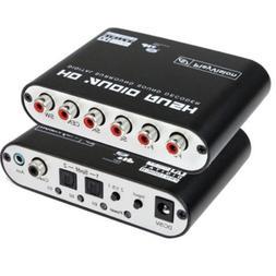 5.1 Digital Audio Analog Converter DTS AC3 To RCA  Rush Surr