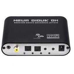 5.1 Digital Audio Rush Surround Sound Decoder DTS AC3 to RCA
