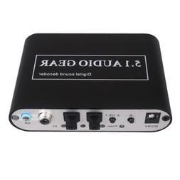 5.1 Digital Audio Rush Surround Sound Decoder SPDIF PS3 DTS