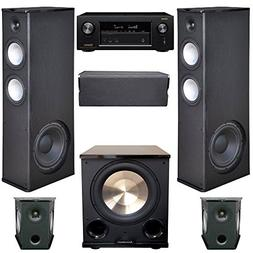Premier Acoustic 5.1 Home Theater System Bundle with 2 PA-8.