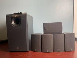 Yamaha 5.1 Surround Sound NS-AP280A Speakers YST-SW005 Subwo