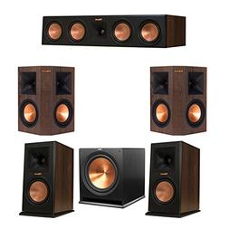 Klipsch 5.1 Walnut System Bundled with 2 RP-160M Monitor Spe