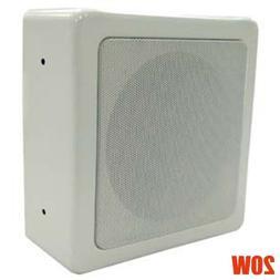 "6.5"" 2-Way 20W Wall Mount Speaker Surround Sound Home Theate"