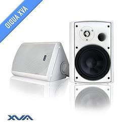"""6.5"""" Outdoor weatherproof patio speaker pair  PSP-W1 - by AV"""