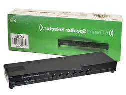 6 Channel Speaker Selector Multi-Zone Audio Home Surround So