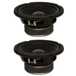 "Goldwood Sound, Inc. Stage Subwoofer, Rubber Surround 6.5"" W"