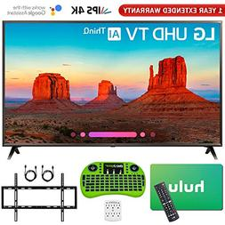 "LG 65UK6300PUE 65""-Class 4K HDR Smart LED AI UHD TV w/ThinQ"