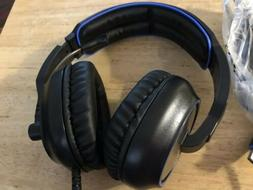7.1 Surround Sound Gaming Headsets SADES R7 USB PC MAC Over-