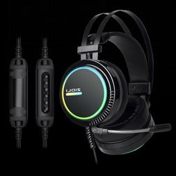 7.1 Virtual Surround Sound  Gaming Headsetwith RGB lights