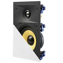 "TDX 8"" 2-Way In Wall Home Theater Surround Sound Speaker Flu"