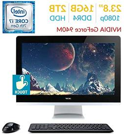 Acer Aspire AZ3 23.8'' Touch FHD  All-in-One Desktop PC, 7th