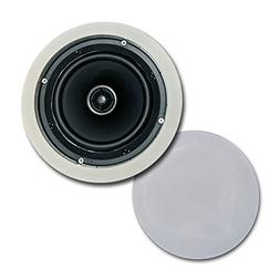 """CT Sounds In-Ceiling Surround Sound 6.5"""" 2-Way Home Audio We"""