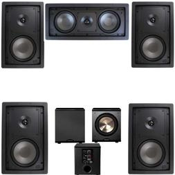 Klipsch R-2650-W In Wall #2 5.1 Home Theater System-FREE PL-