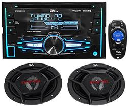 Package: JVC KW-R920BTS Double-Din In-Dash Stereo/CD Player/