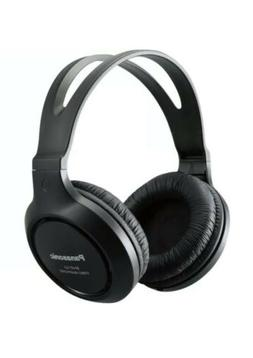 Panasonic Headphones RP-HT161-K Full-Sized Over-the-Ear Ligh