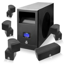 Pyle Home PHSA5 5.1 Home Theater System With Active Subwoofe