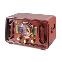 Pyle PUNP34BT Vintage Retro Classic Style Bluetooth Radio So
