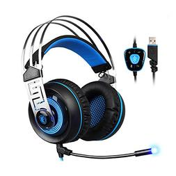 Sades A7 Gaming Headset 7.1 Stereo Surround Sound Earphone G