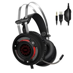 ALWUP Gaming Headset PS4 Headphones - Xbox One Gaming Headse