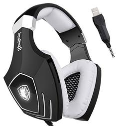 SADES A60/OMG Gaming Headset Over Ear Stereo Surround Sound