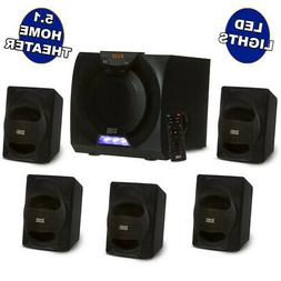 Acoustic Audio AA5230 Home Theater 5.1 Bluetooth Speaker Sys
