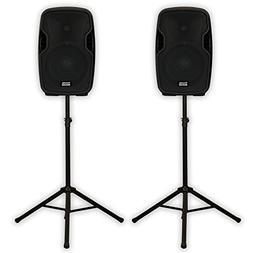 Acoustic Audio AA8UB Powered 1200 Watts Bluetooth Speaker Pa