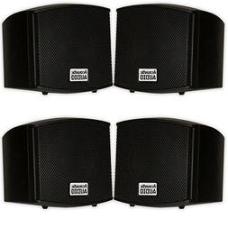 Acoustic Audio AA321B Mountable Indoor Speakers 800 Watts Bl