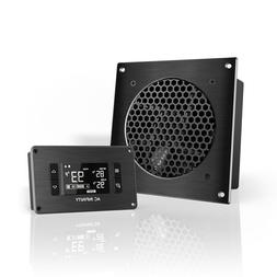 """AC Infinity AIRPLATE T3,Quiet Cooling Fan System 6"""" w/ Therm"""
